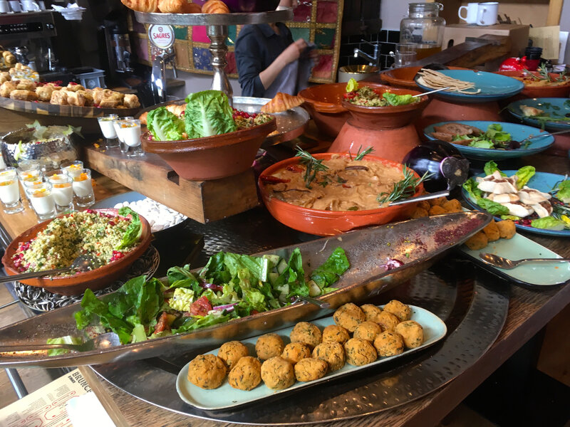brunch libanais à Genève