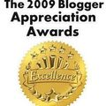 The 2009 blogger appreciation awards