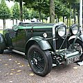 TALBOT AV 105 Brooklands Super Speed boattail Open Tourer 1934 Schwetzingen (1)