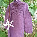 Tunique violette (taille 4 ans)