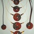 7 swirls orange
