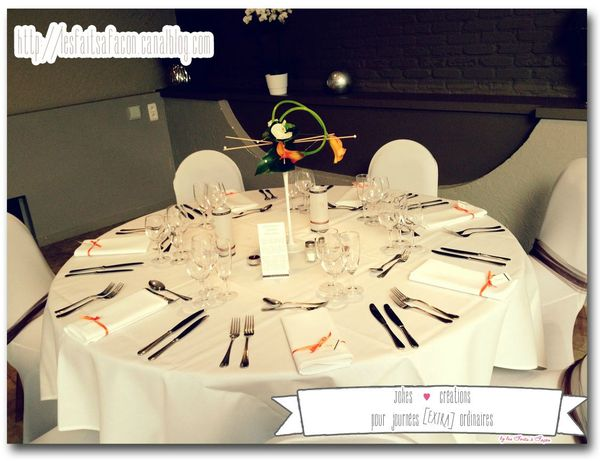 table theme cheval