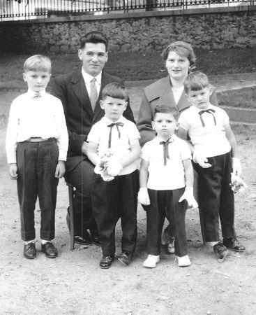 La famille Chenaud début années 60 001