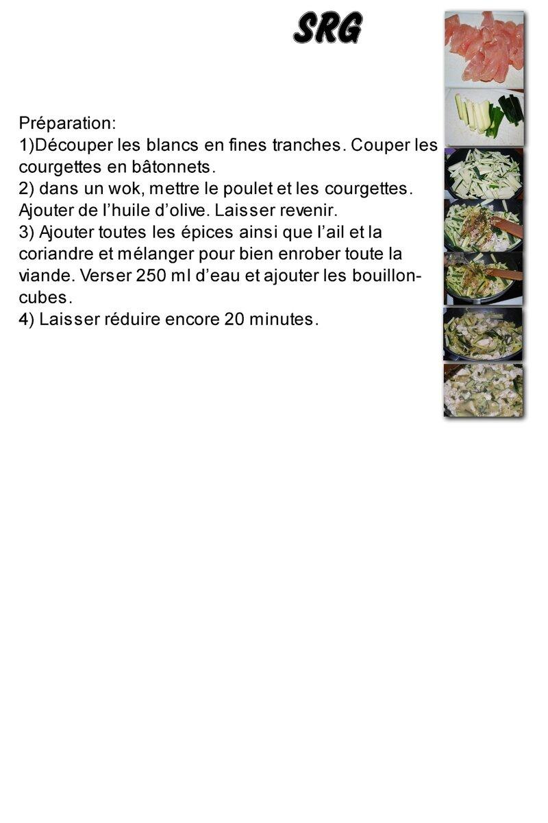 Poulet aux courgettes et épices (page 2)