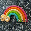 broche arc en ciel fimo kids tunique japonaise (4)