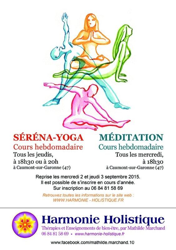 affiche cours hebdo yoga+méditation_web