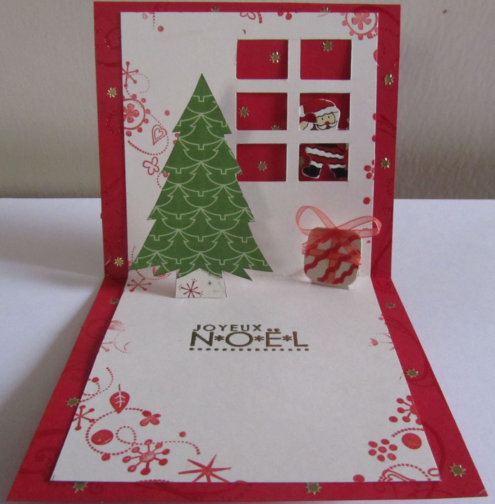 cartes de Noël ( 3) pop up 4
