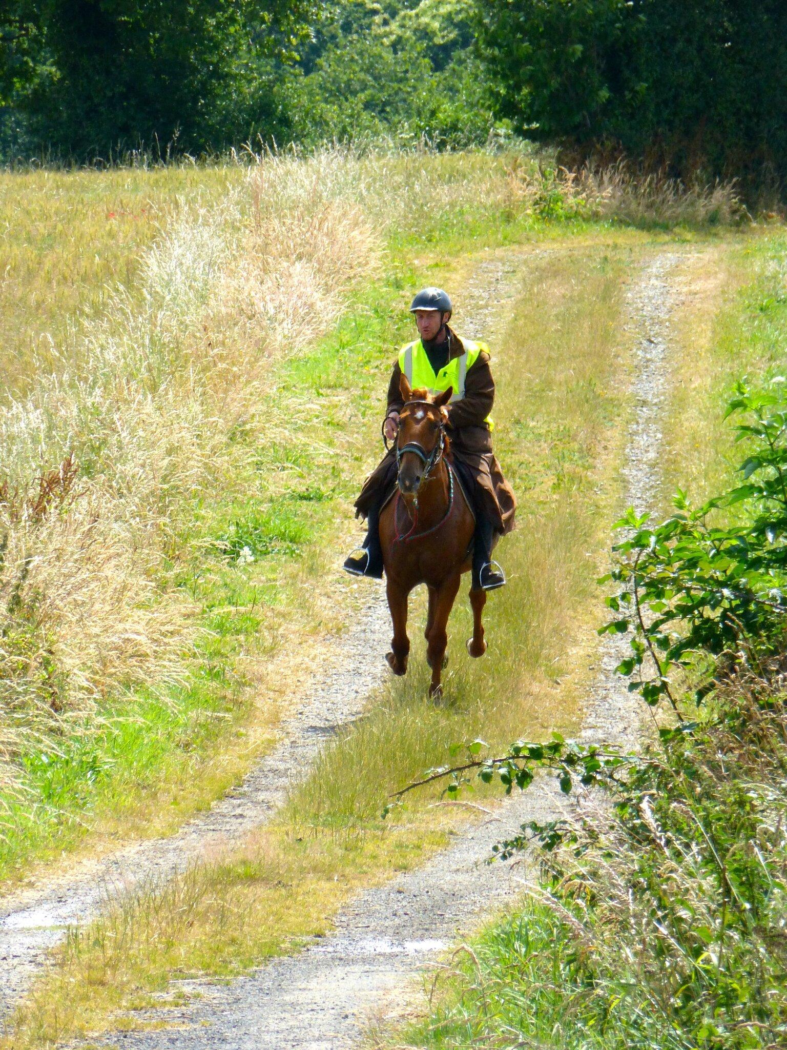 RandoBaie 2014 - balade équestre sur la piste des JEM (154)