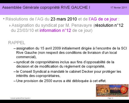 Diapo présentation RG1-2011 12