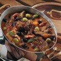 Estouffade de boeuf aux olives