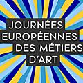 Journées européennes des metiers d'art 2017