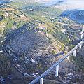 Le pont de roquebilière - cahors- lot.