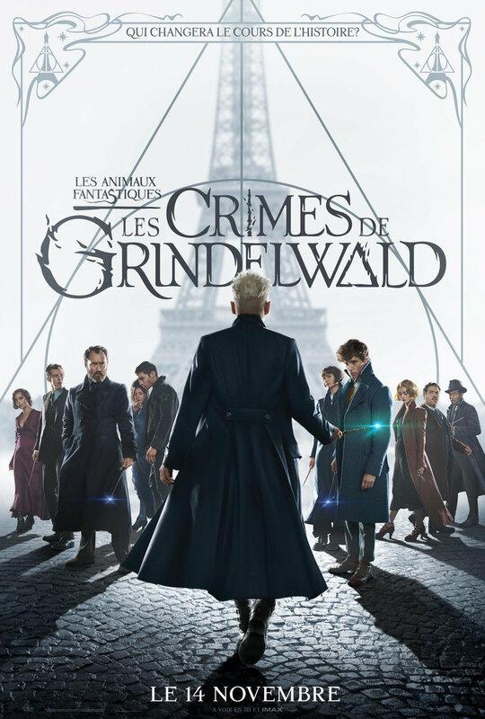 Les Crimes de Grindelwald Affiche