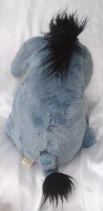 Doudou Peluche Bourriquet Longs poils Fourrure Authentic Disney Store Exclusive