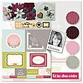 Kit atelier tiny album octobre 2015 par christine