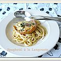 Spaghetti à la langouste et joyeux noël