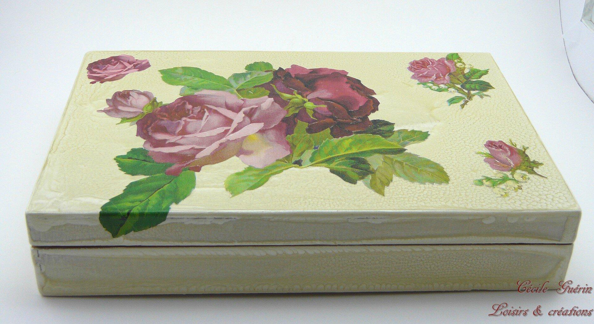 Boîte aux roses