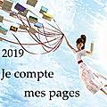 En 2019, je compte mes pages.