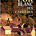 L'or blanc des carrieres - jean-paul romain-ringuier - city editions - en librairie le 29 avril 2016 !