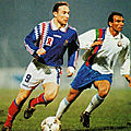 13 décembre 1994 AZERBAIDJAN-FRANCE ... MATCH QUALIFICATIF EURO 96