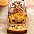 Gâteau aux noix et à l'orange