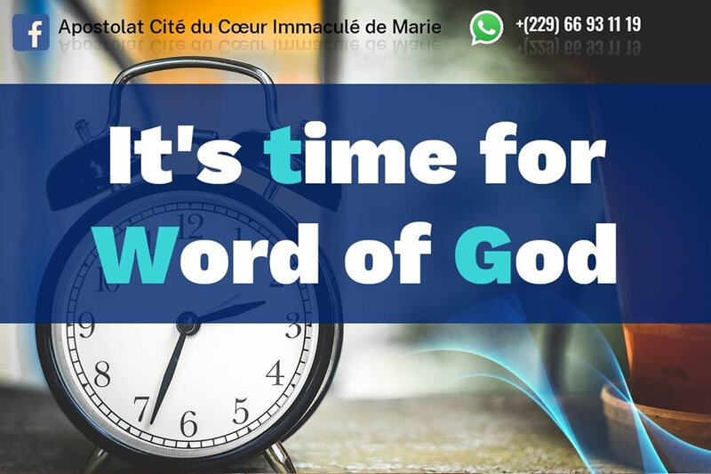 🕐📖 It's time for the Word of God 📖🕐 19 08 19