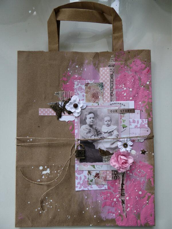 paper bag rose