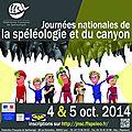 Journées nationales de la spéléo et du canyon 2014 | dimanche 5 octobre | grotte de grosbois (25)