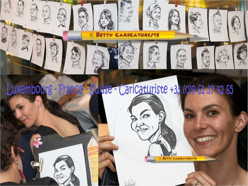Caricaturiste luxembourg caricature animation banque