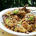 Ragoût de poulet de trinidad