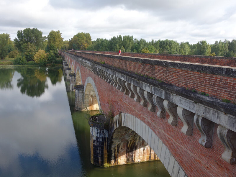 146 Vélo 2019 Le pont canal de Moissac