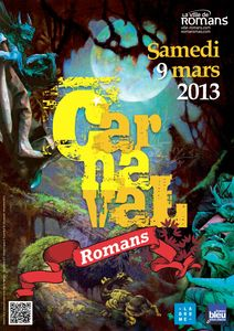 Affiche A3 Carnaval 2013
