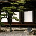 Sculpted tree at Sanjusangen-do temple