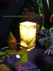 laine feutree lampe