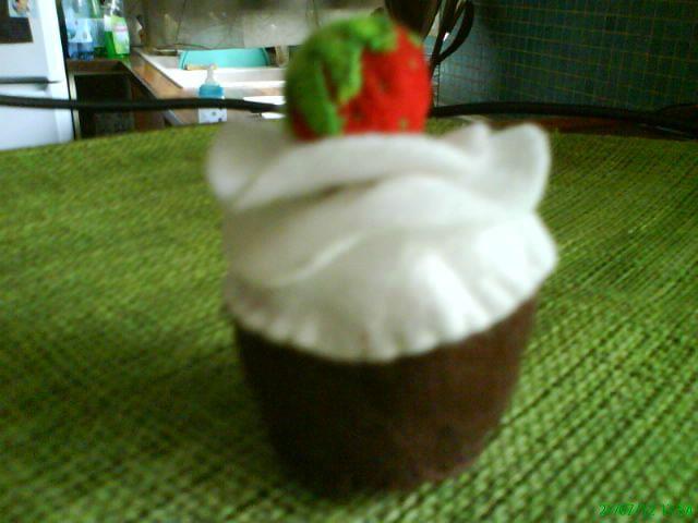 cup-cake choco-fraise
