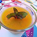 Etonnants voyageurs! et verrine de gelée de mangue, citron vert et menthe bergamote...