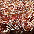Tarte Bouquet de roses 113