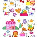 gommettes repositionnable hello kitty