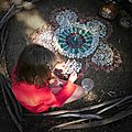 fillette en création yurtao