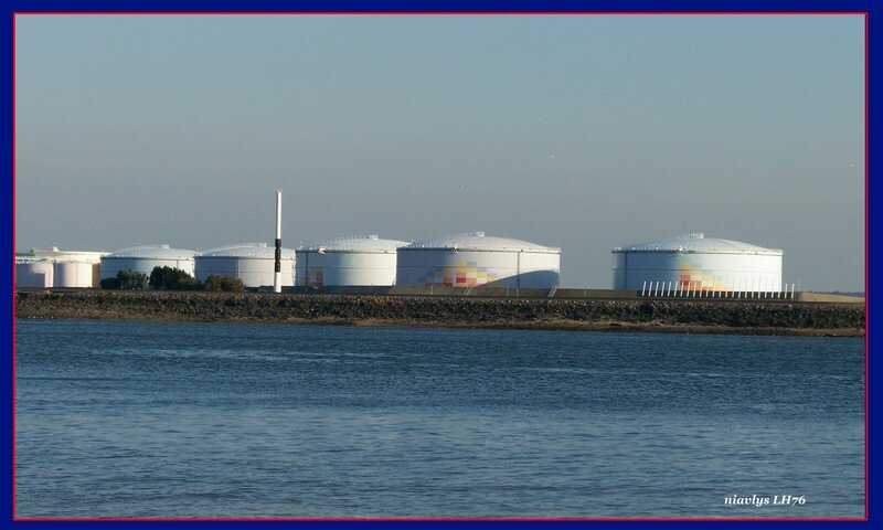 Réservoirs de pétrole, Le Havre