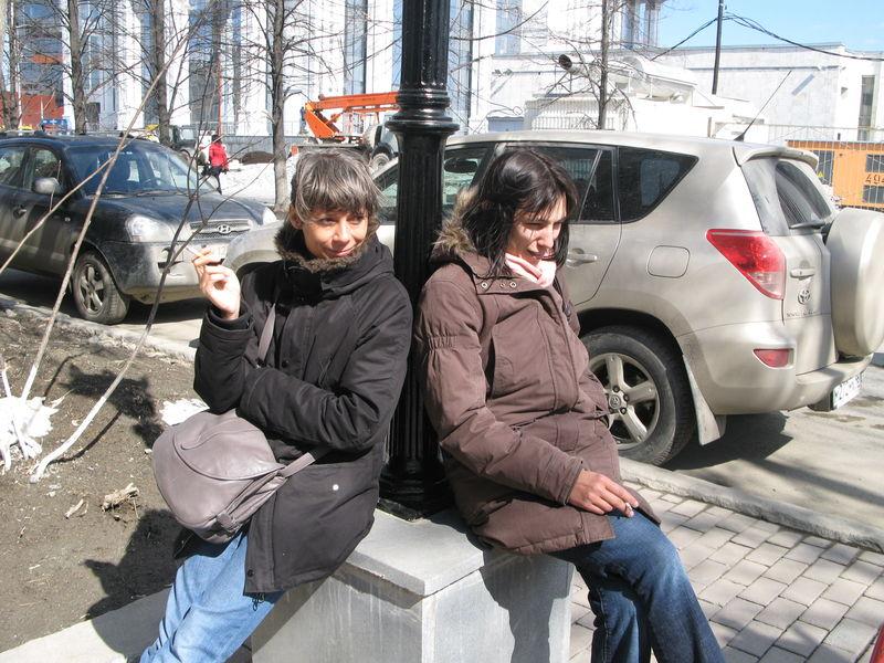 pause 2 marie & Aline