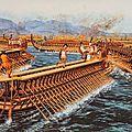 Histoire 6ème : la bataille de salamine et de marathon