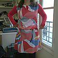 robe géométrique1