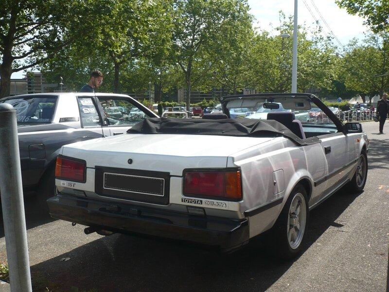 TOYOTA Celica ST cabriolet IIIe génération Strasbourg (2)