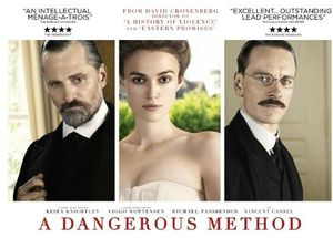 A DANGEROUS METHOD 2011 POSTER