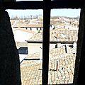 Sur les toits d'aigues-mortes