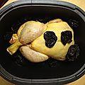 Ultra pro 3,5l: tajine de poulet aux pruneaux (et amandes, et abricots même si vous voulez!)
