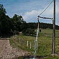 L'eau courante!