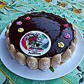 Gateau d'anniversaire aux 3 chocolats