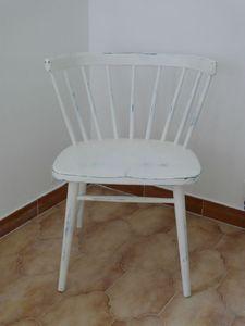 fauteuil bois 1